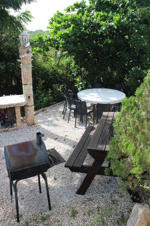 Kashimiri Apartments - unser Grillplatz